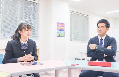 渡辺先生と佐々木さん
