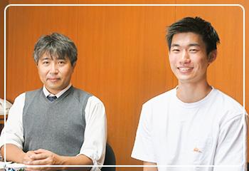 田口先生と小野さん