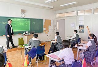 中学オリジナル授業「自己探求」