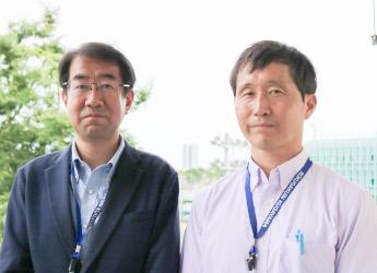横山先生と大瀬先生