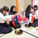 インドネシアからの中学生をおもてなし