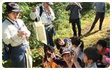 森林整備活動「富士山ローソンの森づくり」