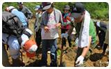 国民の祝日「山の日」記念植樹祭