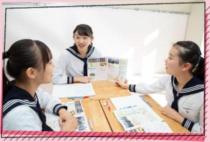 中学1、2年生は基礎学力の定着を目指し、反復学習を実施