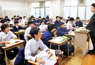 世田谷学園の授業のようす