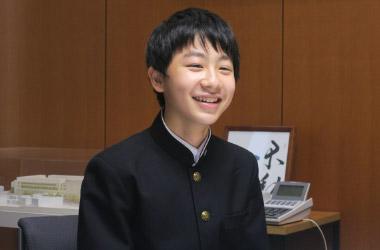 中学3年生 江尻悠人くん(一般生)