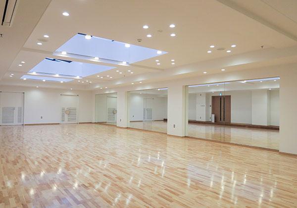 ダンス練習のためのスタジオ