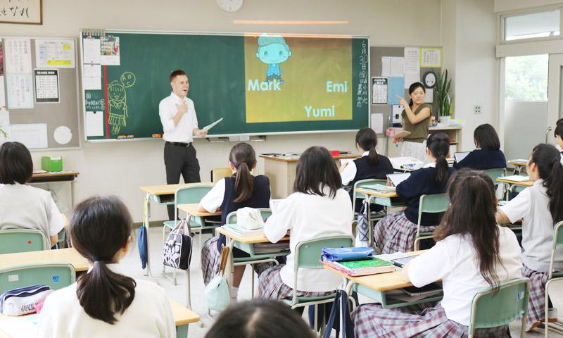 東京女子学園中学校・高等学校の授業のようす03