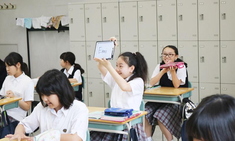 東京女子学園中学校・高等学校の授業のようす06