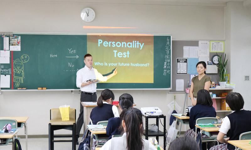 東京女子学園中学校・高等学校の授業のようす11