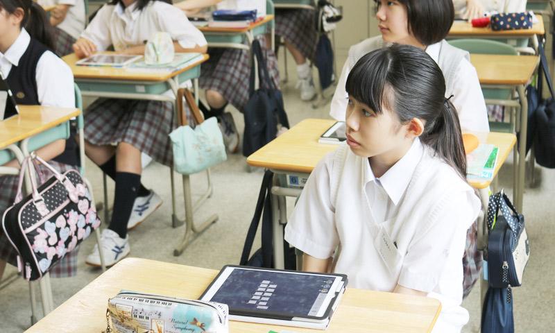 東京女子学園中学校・高等学校の授業のようす12