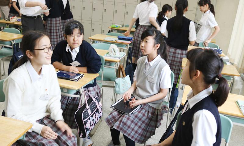 東京女子学園中学校・高等学校の授業のようす13