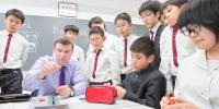 今年からオンライン英会話を全学年で導入! ますます加速する安田学園の英語教育とは