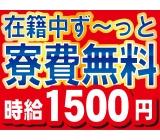 手持ちが増える♪★在籍中ず~~っと寮費無料!!★