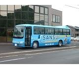 無料送迎バス完備しております。快適通勤!