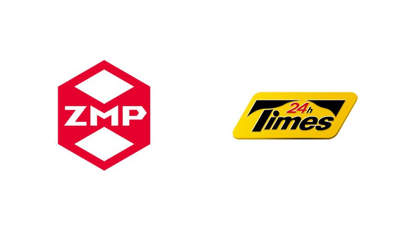 ZMPとパーク24、駐車場における自動駐車の共同実証実験について