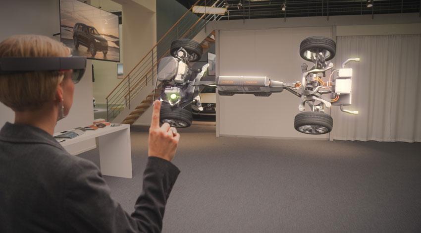 ボルボ、マイクロソフトと3Dホログラムを活用した次世代自動車テクノロジーを共同開発