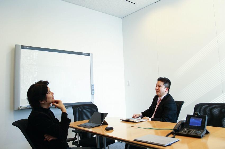 八子氏インタビュー