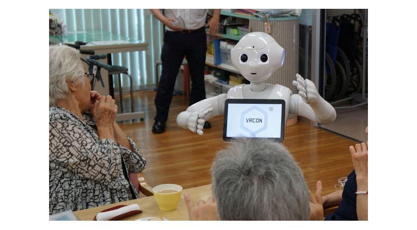 M-SOLUTIONSとソフトバンク、遠隔操作ロボットによる介護サポートの実証テストを実施