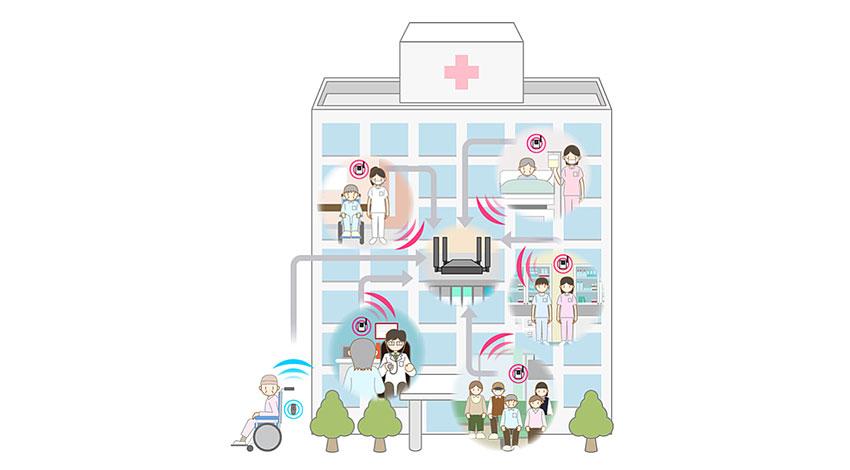 コヴィア、LoRaを活用した温湿度の一元管理システムの実証実験を福井大医学部附属病院と共同で実施