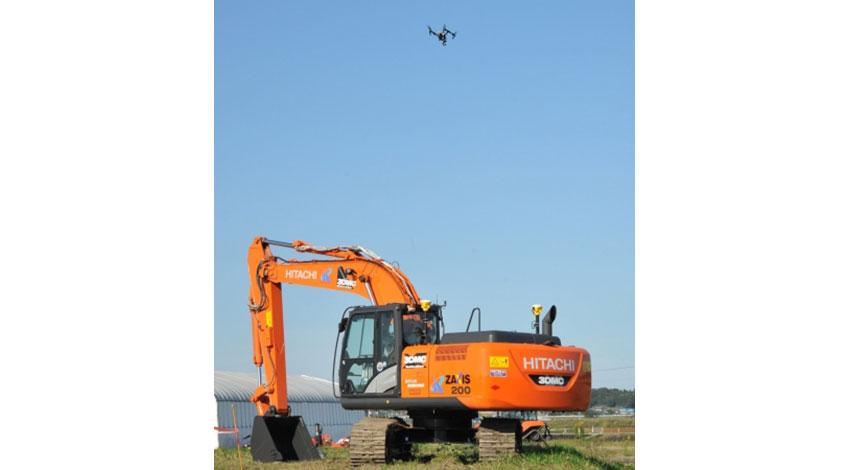 テラドローンと日立建機、日本無人機運行管理コンソーシアム(JUTM)の運航管理デモンストレーションに参画