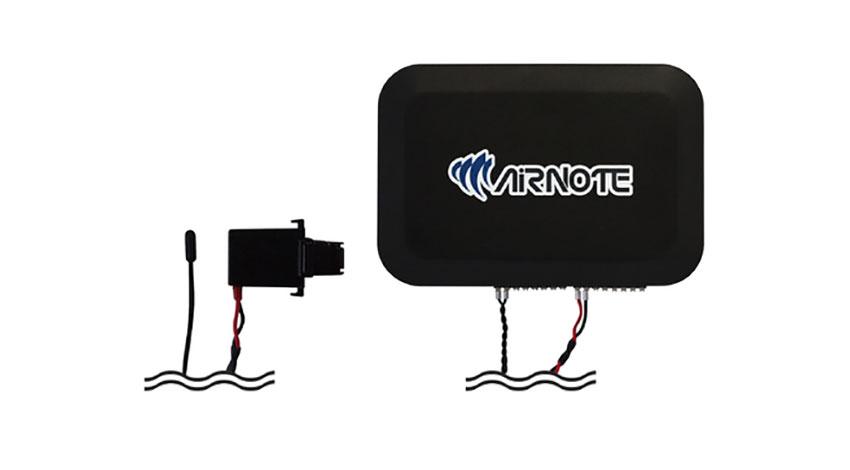 エコモットと日美装建、IoTを活用したエアコン設備の遠隔管理システム「AIRNOTE」を開発