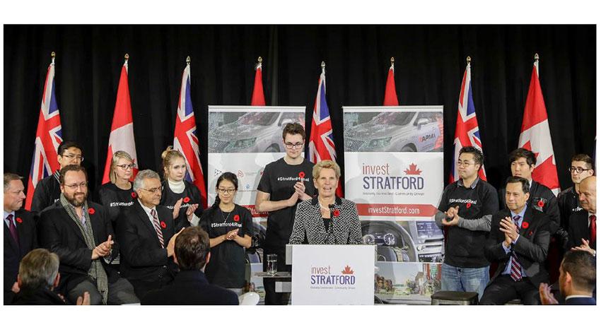 カナダ・オンタリオ州、自動運転車の開発へ向けて72億円を投資