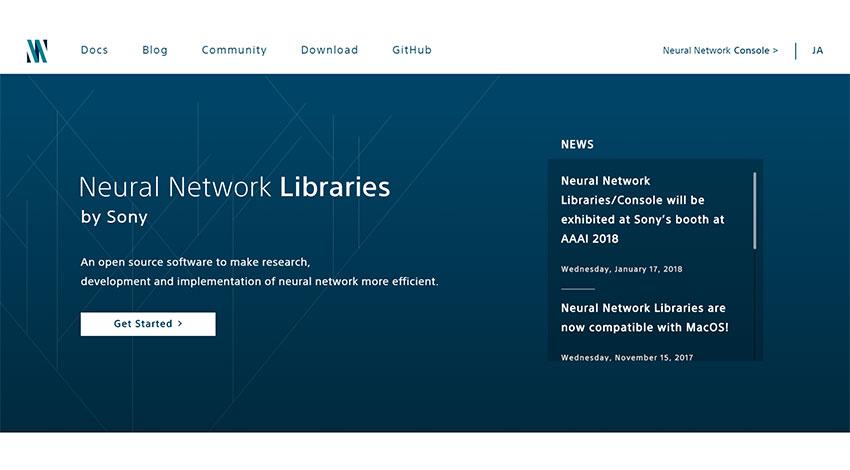 ソニーのディープラーニングの統合開発環境Neural Network Console、クラウドサービスで複数GPU ...