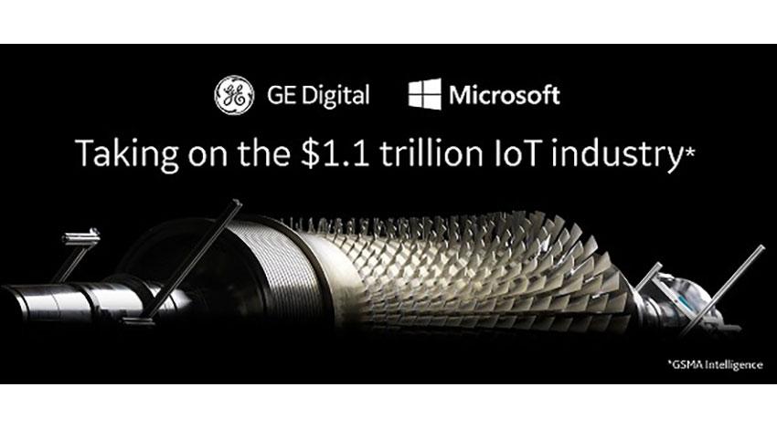 GEとマイクロソフト、産業IoT(IIoT)のパートナーシップを拡大