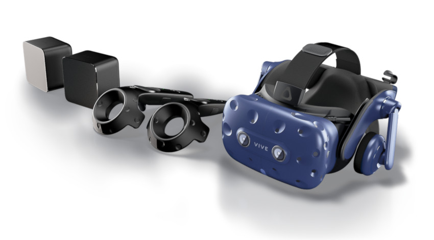 HTC、VRヘッドマウントディスプレイ「VIVE」関連製品発売
