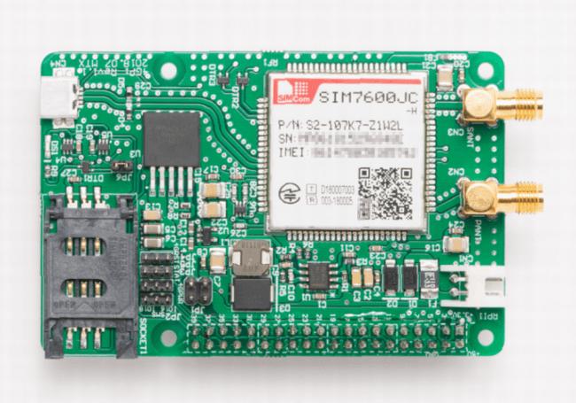 メカトラックス、3キャリア対応ラズベリーパイ用LTE通信モジュール「4GPi」開発