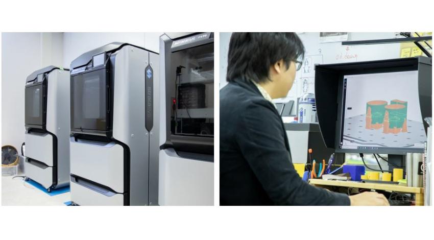 ストラタシスの3Dプリンティング・ソリューション、GROOVE Xの家族型ロボット開発に活用