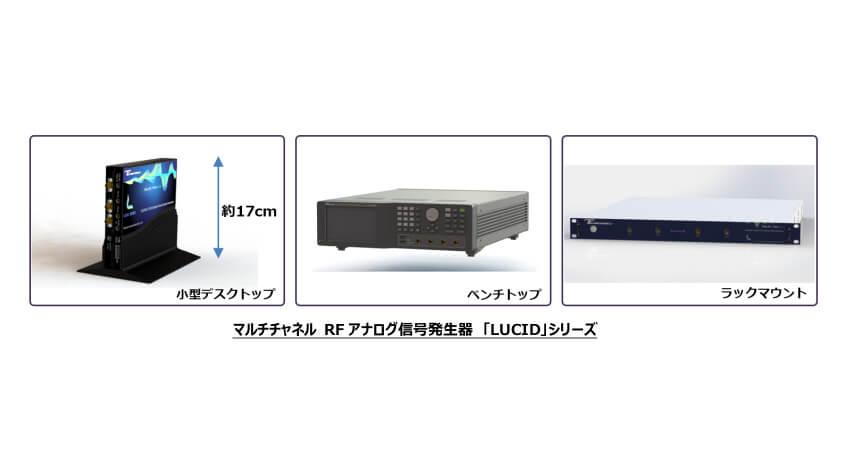 東陽テクニカ、1台でマルチチャネル出力可能なTabor製RF信号発生器「LUCID」国内販売開始