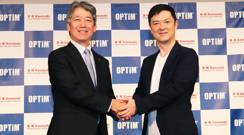 川崎重工とオプティム、AI・IoTを活用した精密機械・ロボット分野で業務提携