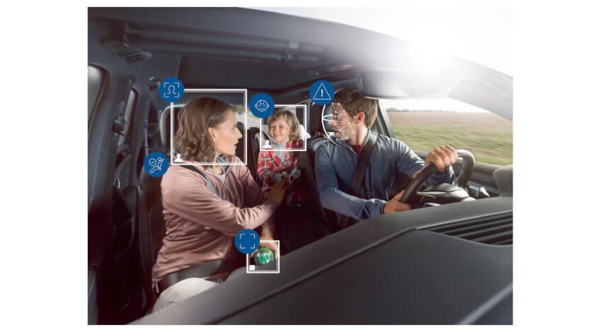 ボッシュがAIとカメラによる車室内モニタリングシステムを開発、ドライバーの眠気や不注意を検知し走行を支援