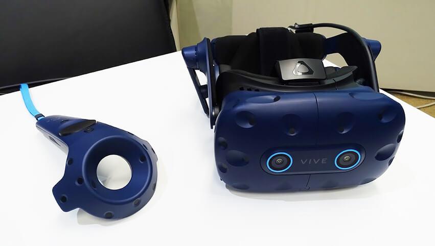 HTCのヘッドマウントディスプレイ「VIVE Pro Eye」