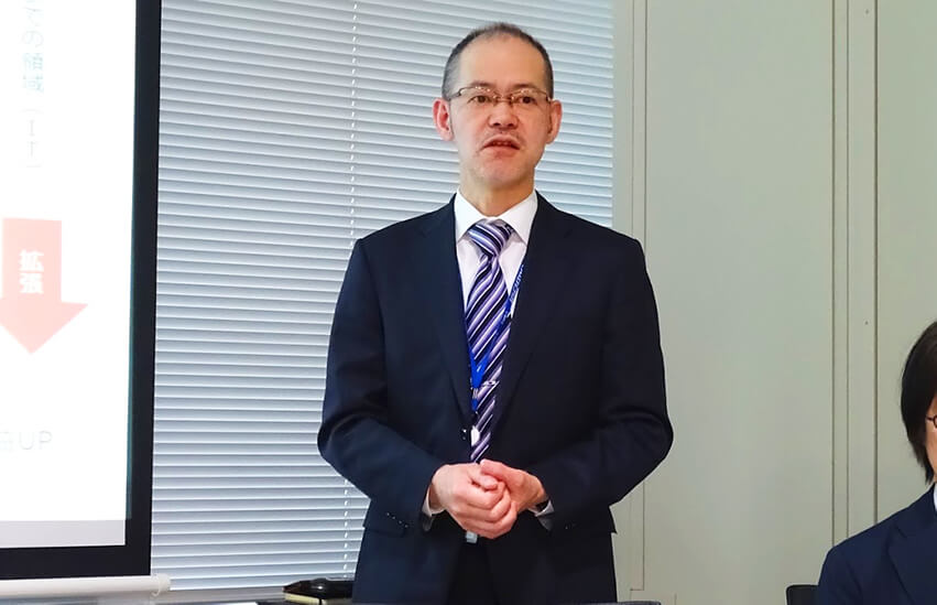 B-EN-G デジタルサービス本部 志村健二氏