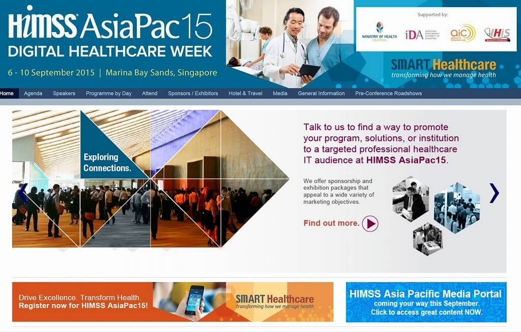 HIMSS AsiaPac15 Conference and Exhibition