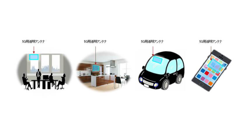 DNP、5G対応製品向けの「透明アンテナフィルム」を開発