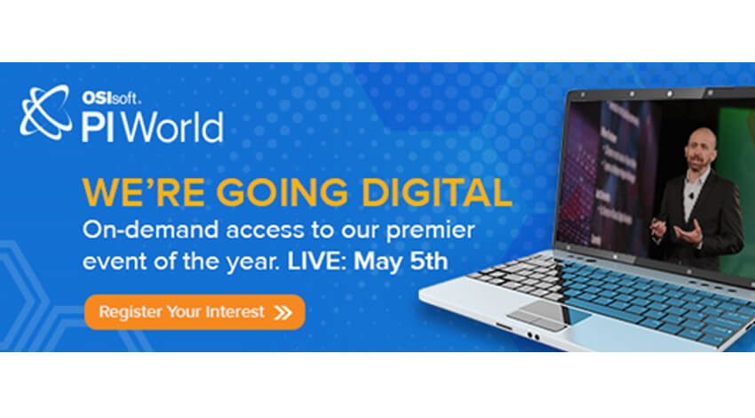 [DX:5/5~]産業IoTインターナショナルオンラインカンファレンス「PI WORLD ONLINE」開催(無料/英語)