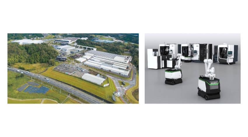 NTT ComとDMG森精機、自律走行型ロボットをローカル5Gで遠隔操作する共同実験を開始