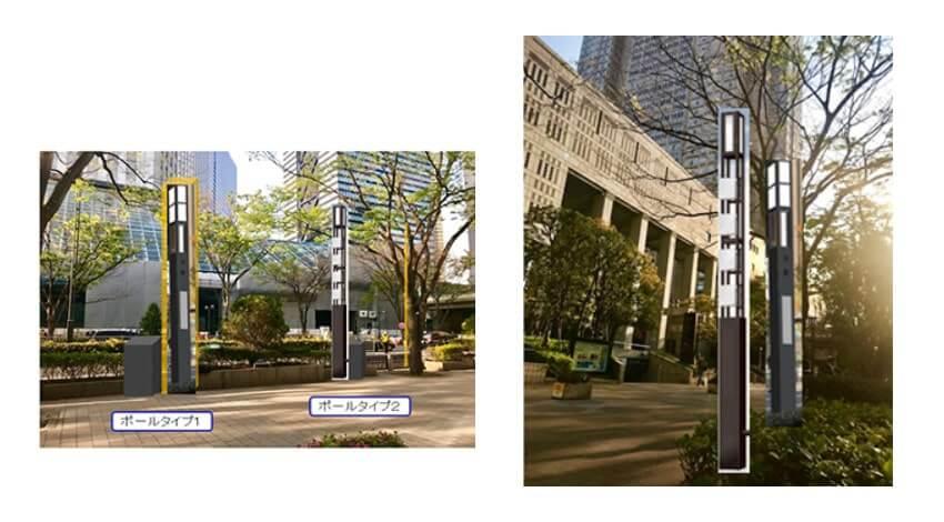 住友商事とNEC、5Gアンテナ搭載スマートポールの試行設置において東京都と連携