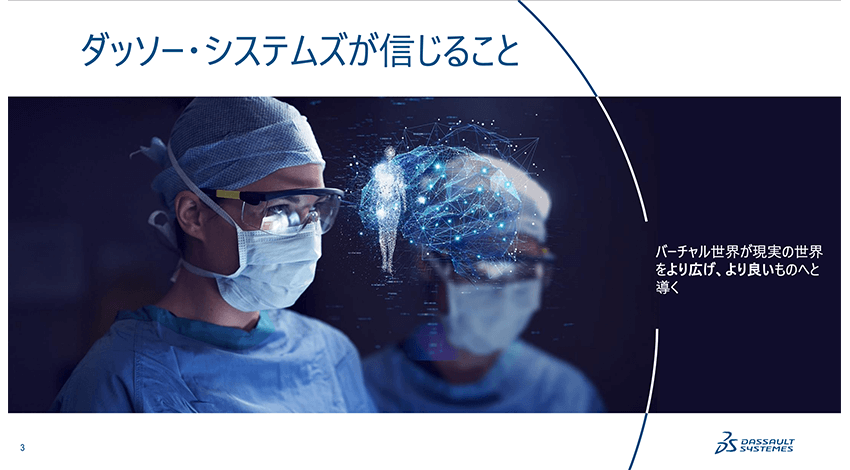 「バーチャルヒューマン」によるヘルスケア領域へのアプローチ―ダッソー・システムズオンライン事業戦略説明会レポート