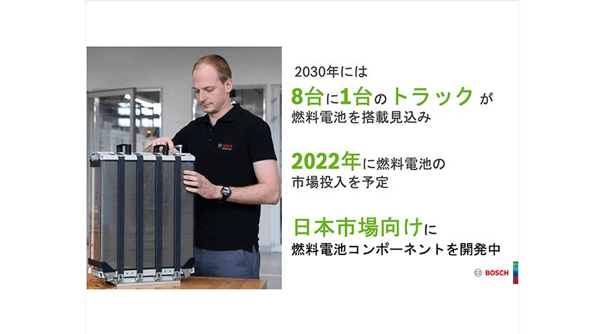 ボッシュは2022年に燃料電池の市場投入を予定