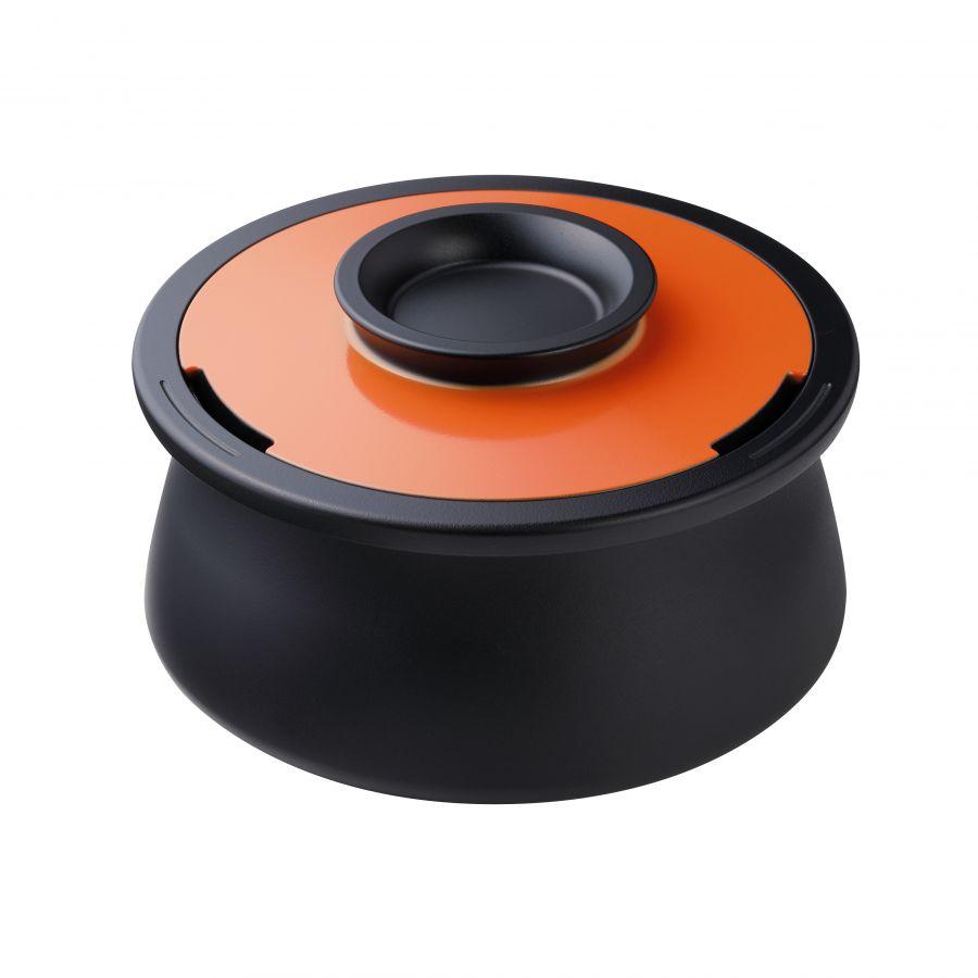 POT VOL., φ220*120mm, Spanish Orange