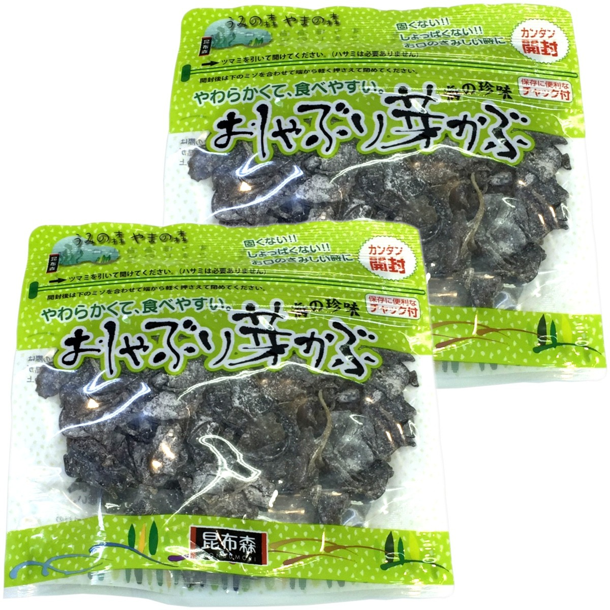 Oshaburi Mekabu Seaweed, 95g x 2 packs
