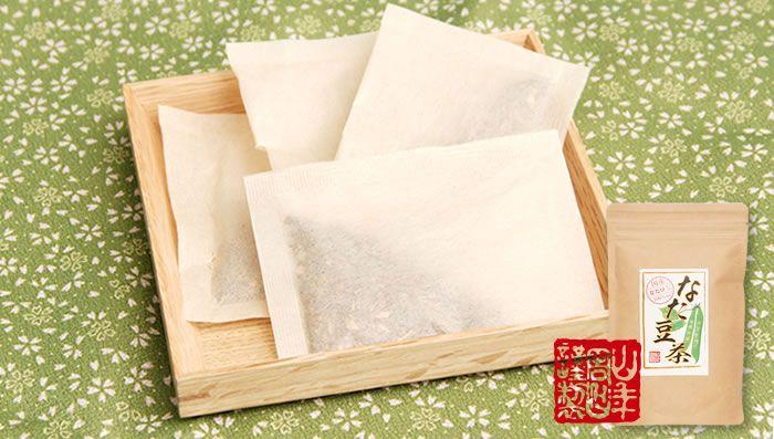 Organic Caffeine-free Sword Bean Tea in 12 Tea Bags, 36g x 6 packs