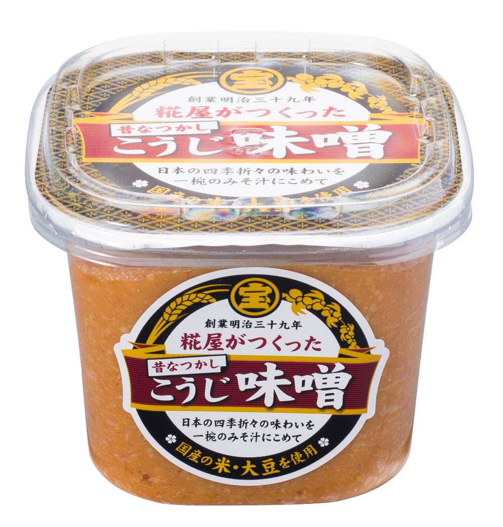 Horaiya Kojiya Miso 500g(Traditional Koji Miso) 6 Packs