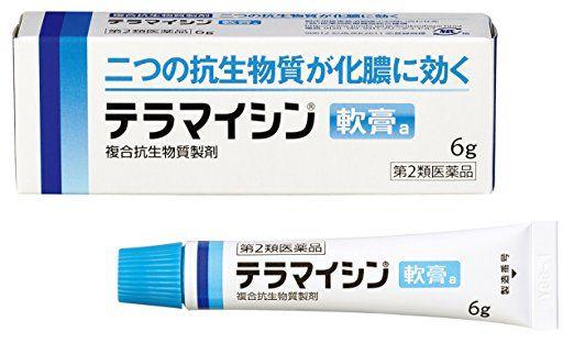 Takeda Terramycin Nanko a Antibiotic Ointment for Suppurative Skin, 6g