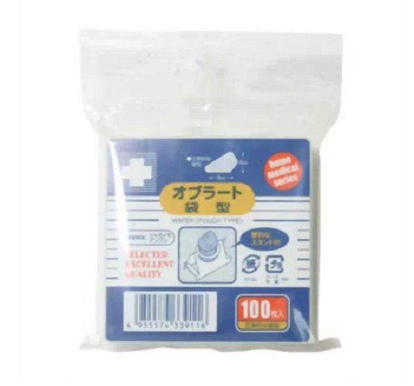 日進医療器(衛生用品) エルモ オブラート 袋型 100枚入